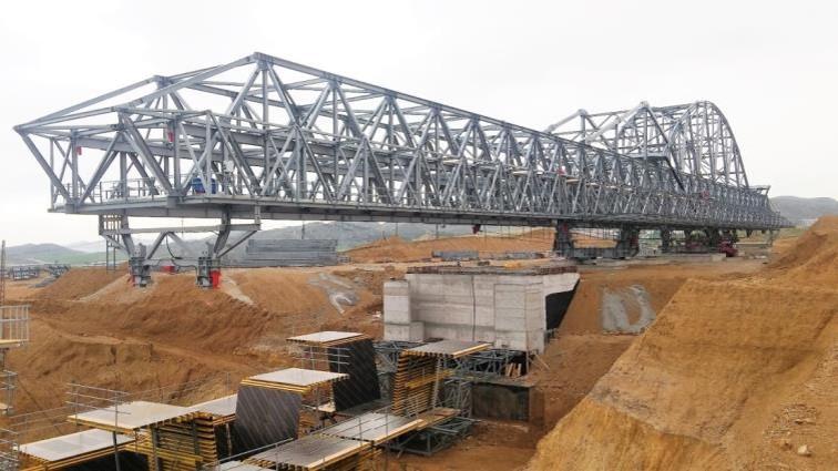 نمونه روش ساخت پیشرفته ساخت پل بتنی در آنکارای ترکیه توسط ما