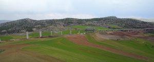 نمونه پروژه سیستم داربست متحرک در کشور ترکیه (ساخت پل بتنی با دهانه 90 متری)